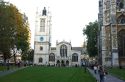 ST.MARGARETS CHURCH at the wedding of Clementine Hambro to Orlando Fraser at St.Margarets Westminster Abbey, London on 3rd November 2006.<br /><br />NON EXCLUSIVE - WORLD RIGHTS
