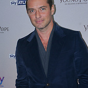 London, England,UK. 13th Oct 2016: Jude Law at the UK premiere of Sky Original Production The Young Pope, starting 27 October exclusively on Sky Atlantic at Corinthia Hotel London, UK. Photo by See Li