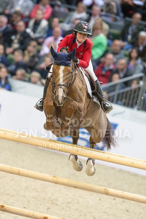Reed Kessler (USA) & Cylana - Rolex FEI World Cup Jumping Final 2 - Gothenburg Horse Show 2013 - Scandinavium, Gothenburg, Sweden - 26 April 2013