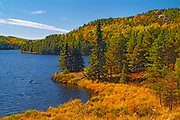 Autumn on Tower Lake<br />Near Kenora<br />Ontario<br />Canada
