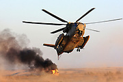 Israeli Air force Sikorsky CH-53 helicopter in flight