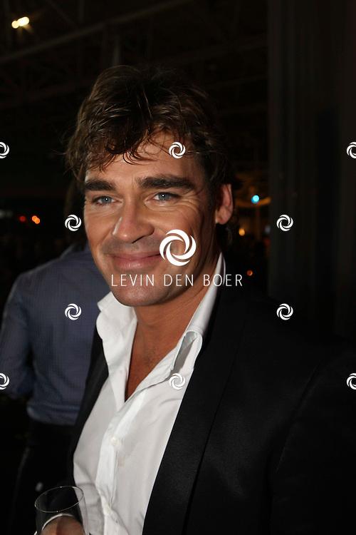 AMSTERDAM - In de Rai is de Miljonair Fair van start gegaan.  Met op de foto zanger en entertainer Jeroen van der Boom. FOTO LEVIN DEN BOER - PERSFOTO.NU