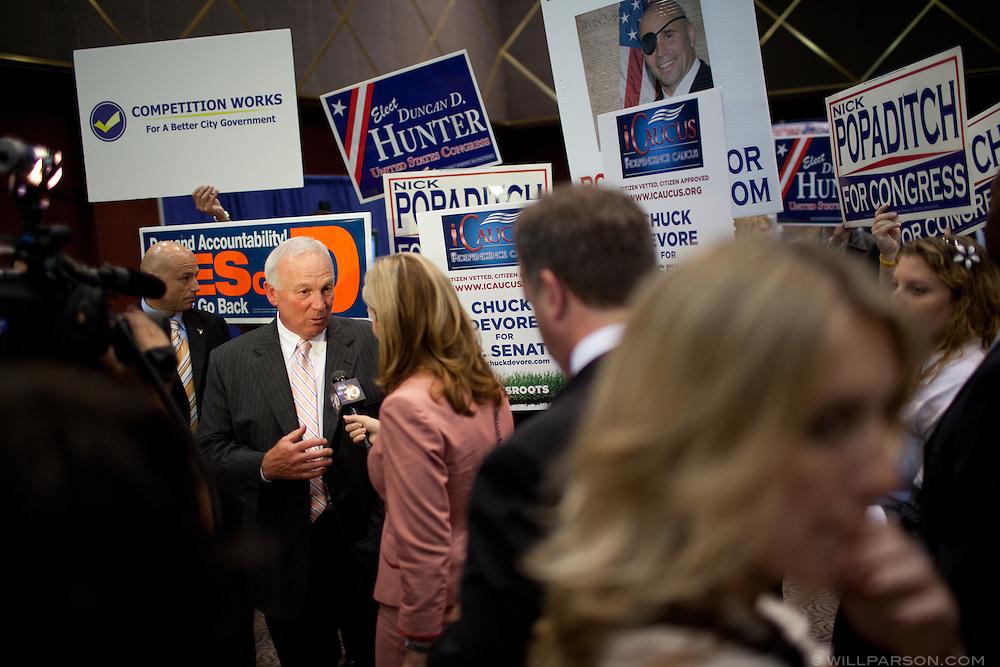 San Diego Mayor Jerry Sanders
