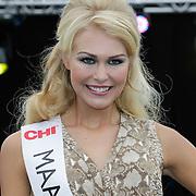 NLD/Rotterdam/20120615 - Verkiezing Miss Zuid-Holland 2012, deelneemster Maaike Tjalsma