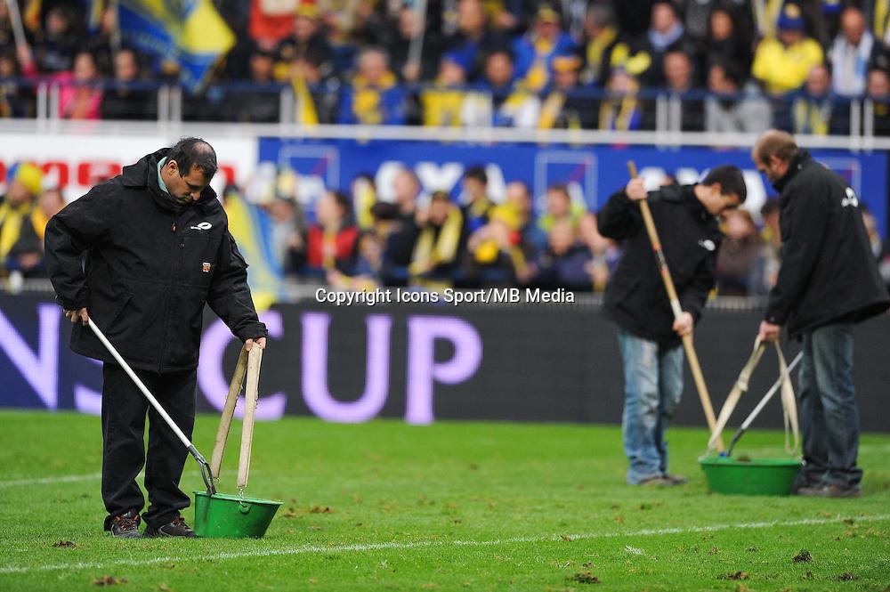 Illustration Jardinier - 14.12.2014 - Clermont / Munster - European Champions Cup <br /> Photo : Jean Paul Thomas / Icon Sport