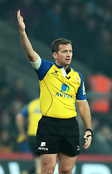 December 27, 2016 - London, England, United Kingdom - Referee J P Doyle during Aviva Premiership Rugby Big Game 9 match between Harlequins and Gloucester Rugby at The Twickenham Stadium, London on 27 Dec 2016  (Credit Image: © Kieran Galvin/NurPhoto via ZUMA Press)