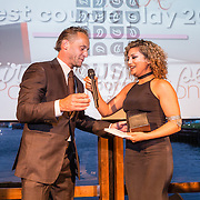 NLD/Amsterdam/20160601 - Uitreiking Porna Awards 2016, winnaar best Couples play