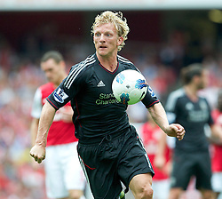 20.08.2011, Emirates Stadium, London, ENG, PL, FC Arsenal vs Liverpool FC, im Bild Liverpool's Dirk Kuyt in action against Arsenal during the Premiership match at the Emirates Stadium<br /> <br /> ***NETHERLANDS ONLY***