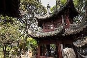 Fenghuang Pavilion in Yu Yuan Gardens Shanghai, China
