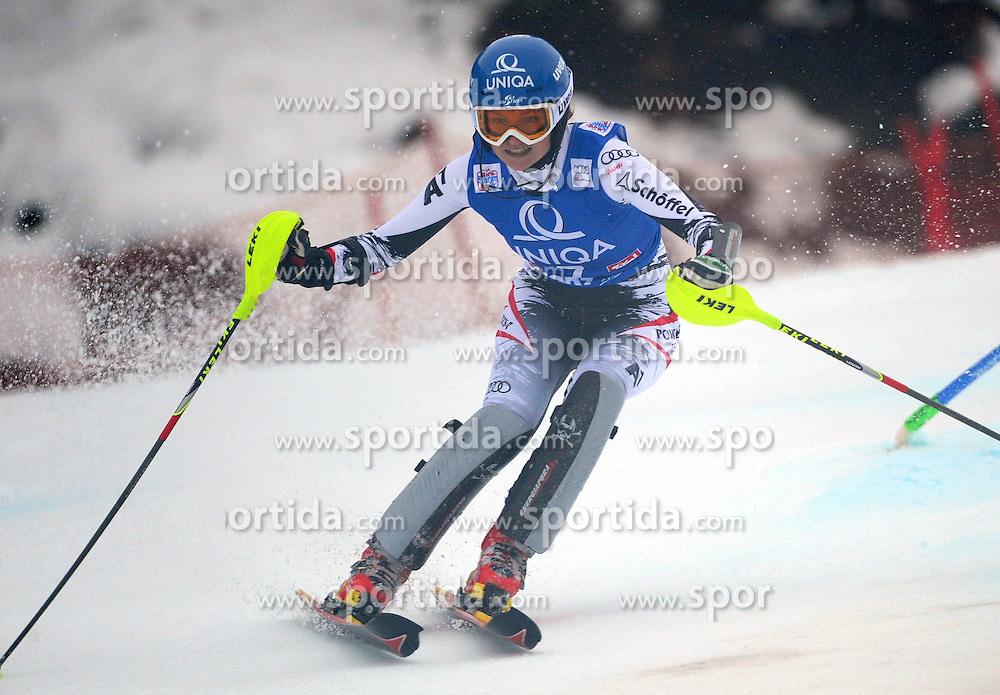 29.12.2013, Hochstein, Lienz, AUT, FIS Weltcup Ski Alpin, Lienz, Damen, Slalom 1. Durchgang, im Bild Marlies Schild (AUT) // Marlies Schild (AUT) during ladies Slalom 1st run of FIS Ski Alpine Worldcup at Hochstein in Lienz, Austria on 2013/12/29. EXPA Pictures © 2013, PhotoCredit: EXPA/ Erich Spiess