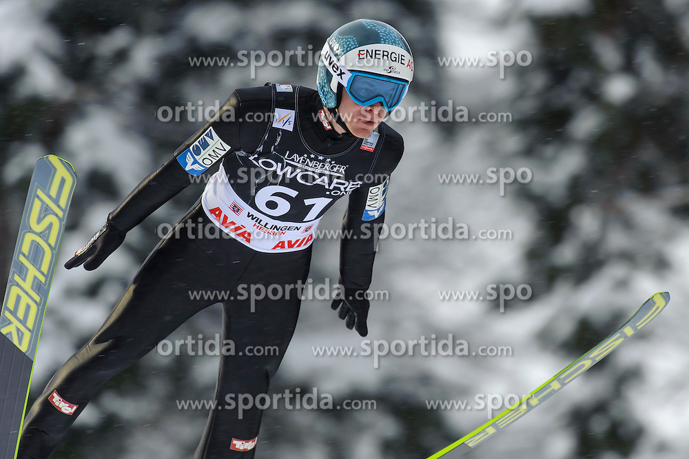 01.02.2015, M&uuml;hlenkopfschanze, Willingen, GER, FIS Weltcup Ski Sprung, Willingen, im Bild Michael Hayb&ouml;ck (AUT) // during men' s Large Hill competition of FIS Ski Jumping world cup at the M&uuml;hlenkopfschanze in Willingen, Germany on 2015/02/01. EXPA Pictures &copy; 2015, PhotoCredit: EXPA/ Rolf Kosecki<br /> <br /> *****ATTENTION - OUT of GER*****