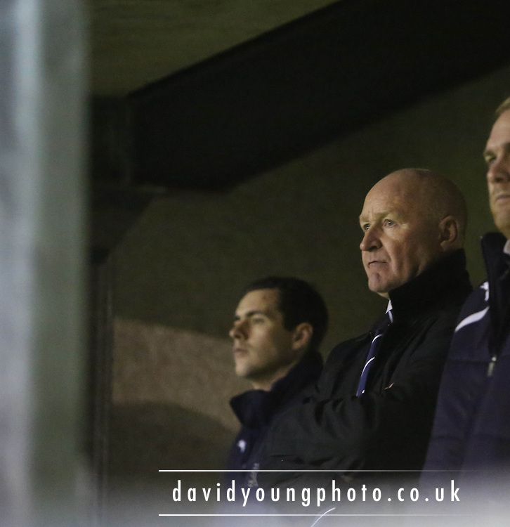 Dundee manager John Brown - Alloa Athletic v Dundee, SPFL Championship, at Recreation Park<br /> <br />  - &copy; David Young - www.davidyoungphoto.co.uk - email: davidyoungphoto@gmail.com