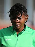 International Women's Friendly Matchs 2019 / <br /> Womens's Cyprus Cup Tournament 2019 - <br /> Nigeria v Thailand 3-0 ( Tasos Marko Stadium - Paralimni,Cyprus ) - <br /> Amarachi Okoronkwo of Nigeria