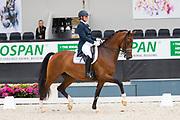 Mara de Vries - Barzana G<br /> WK Selectie Jonge Dressuurpaarden 2017<br /> © DigiShots