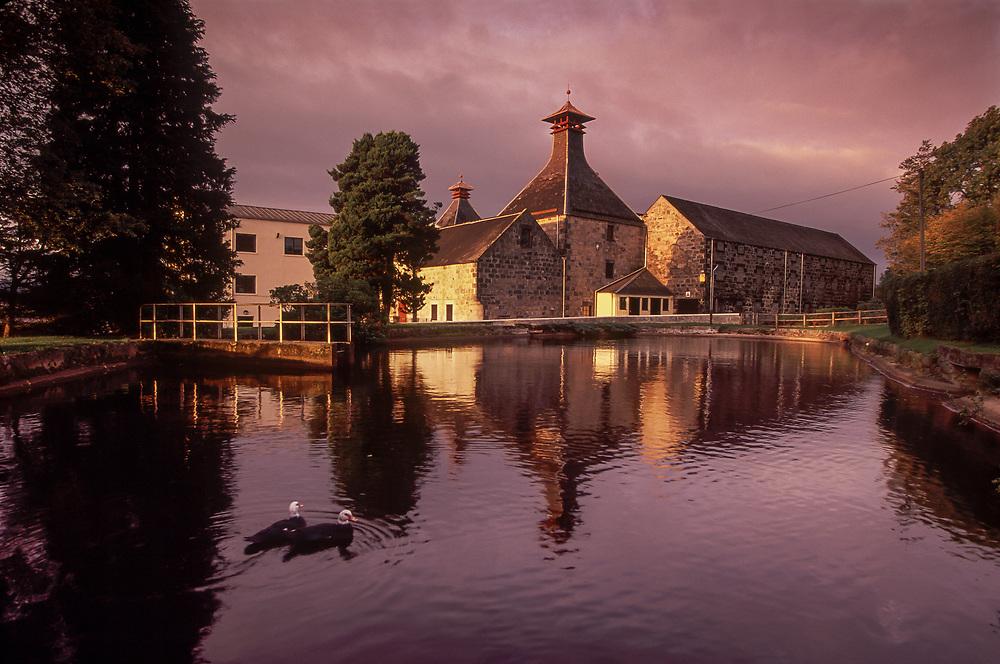 Cardhu Distillery, Speyside, Scotland.