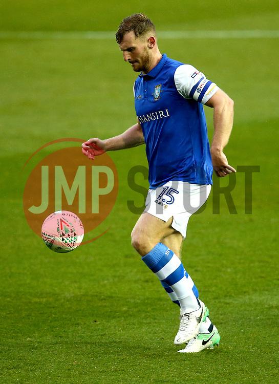 Tom Lees of Sheffield Wednesday - Mandatory by-line: Robbie Stephenson/JMP - 08/08/2017 - FOOTBALL - Hillsborough - Sheffield, England - Sheffield Wednesday v Chesterfield - Carabao Cup