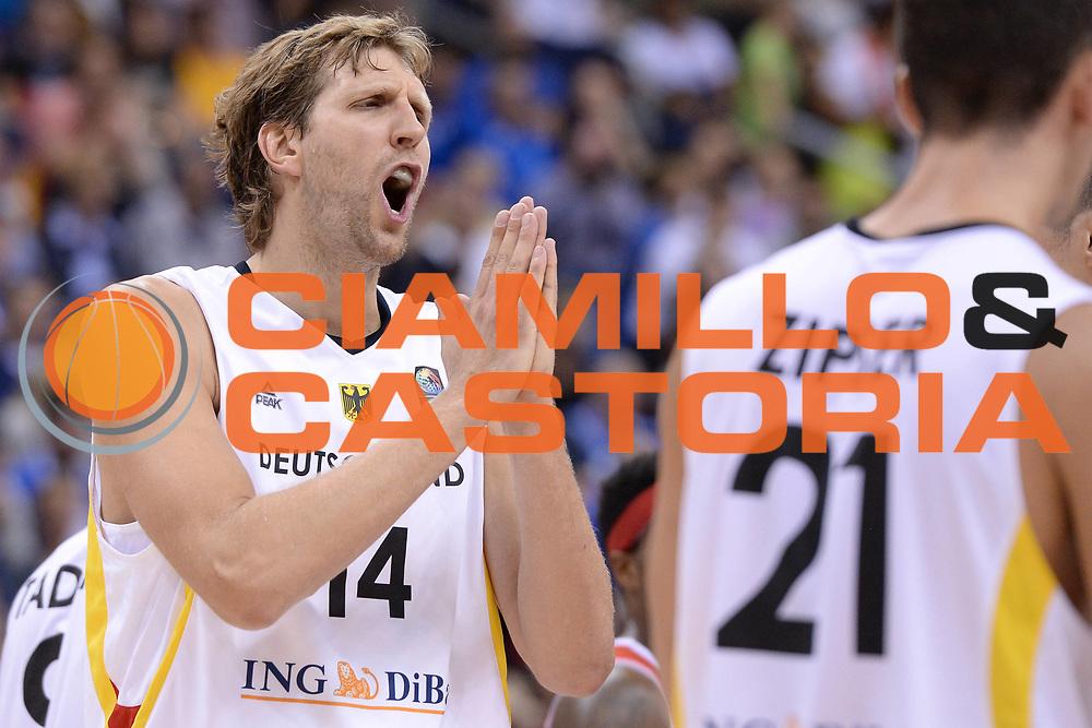 DESCRIZIONE : Berlino Berlin Eurobasket 2015 Group B Germany Turkey<br /> GIOCATORE : Dirk Nowitzki<br /> CATEGORIA : Delusione<br /> SQUADRA : Germany Turkey<br /> EVENTO : Eurobasket 2015 Group B<br /> GARA : Germany Turkey<br /> DATA : 08/09/2015<br /> SPORT : Pallacanestro<br /> AUTORE : Agenzia Ciamillo-Castoria/m.longo<br /> Galleria : Eurobasket 2015<br /> Fotonotizia : Berlino Berlin Eurobasket 2015 Group B Germany Turkey