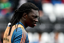 Bafetibis Gomis of Swansea City looks on - Mandatory byline: Rogan Thomson/JMP - 07966 386802 - 30/08/2015 - FOOTBALL - Liberty Stadium - Swansea, Wales - Swansea City v Manchester United - Barclays Premier League.