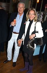 MR & MRS MARTIN SUMMERS at a party to celebrate the publication of Style by interior designer Kelly Hoppen held at 50 Cheyne Walk, London on 10th November 2004.<br />