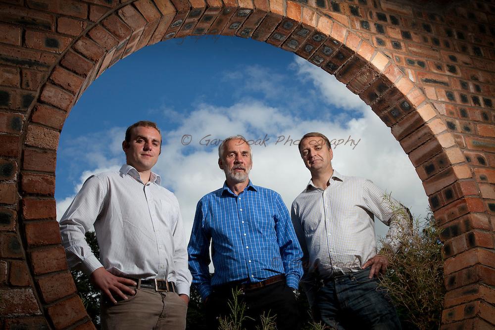 AlbaTERN Ltd. .(left to right) David Findlay, John Findlay and David Campbell