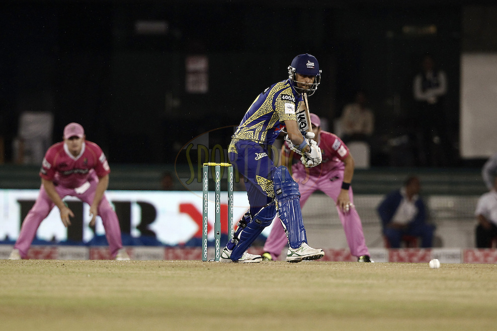 Robin Peterson of Cape Cobras during match 3 of the Oppo Champions League Twenty20 between the Cape Cobras and the Northern Knights held at the Chhattisgarh International Cricket Stadium, Raipur, India on the 19th September 2014<br /> <br /> Photo by:  Deepak Malik / Sportzpics/ CLT20<br /> <br /> <br /> Image use is subject to the terms and conditions as laid out by the BCCI/ CLT20.  The terms and conditions can be downloaded here:<br /> <br /> http://sportzpics.photoshelter.com/gallery/CLT20-Image-Terms-and-Conditions-2014/G0000IfNJn535VPU/C0000QhhKadWcjYs