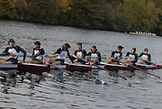 Boston, Massachusetts,  Men's Championship eights, Princeton Training Center, competing in the  Forty Second, [42nd] Head of the Charles, 22/10/2006.  Photo  Peter Spurrier/Intersport Images...[Mandatory Credit, Peter Spurier/ Intersport Images] Rowing Course; Charles River. Boston. USA