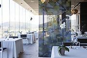 Azurmendi restaurant, in Larrabetzu, near Bilbao, Spain.