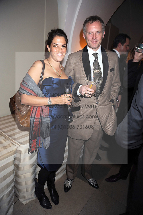 JOE CORRE and TRACEY EMIN at Chaos Point - a fashion show from Viienne Westwood's Gold Label Collection in aid of the NSPCC at The Banqueting House, London SW1 on 18th November 2008.