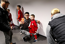 Callum O'Dowda of Bristol City as mascots meet the players - Rogan/JMP - 10/12/2019 - Ashton Gate Stadium - Bristol, England - Bristol City v Milwall FC - Sky Bet Championship.