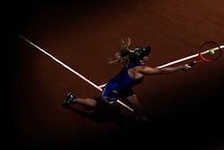 June 5, 2017 - Paris, France - Elina Svitolina of Ukraine returns the ball to Petra Martic of Croatia during the fourth round at Roland Garros Grand Slam Tournament - Day 9 on June 5, 2017 in Paris, France. (Credit Image: © Robert Szaniszlo/NurPhoto via ZUMA Press)