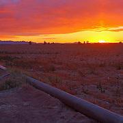 Sun rising over San Tan Valley - AZ