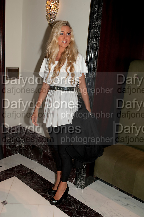 KAYLEIGH CURNEEN, Langham Hotel party after a major renovation. Portland Place, London. 10 June 2009