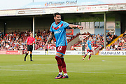 Adam Hammill Of Scunthorpe United during the Pre-Season Friendly match between Scunthorpe United and Leicester City at Glanford Park, Scunthorpe, England on 16 July 2019.