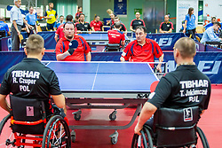 (Team CZE) SUCHANEK Jiri and ZVOLANEK Martin in action during 15th Slovenia Open - Thermana Lasko 2018 Table Tennis for the Disabled, on May 11, 2018 in Dvorana Tri Lilije, Lasko, Slovenia. Photo by Ziga Zupan / Sportida