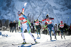 Katja Visnar of Slovenia during 1.2 km Sprint Classic race at FIS Cross Country World Cup Planica 2016, on January 20, 2018 at Planica, Slovenia. Photo By Morgan Kristan / Sportida