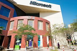 Microsoft office building at Dubai Internet City in United Arab Emirates UAE