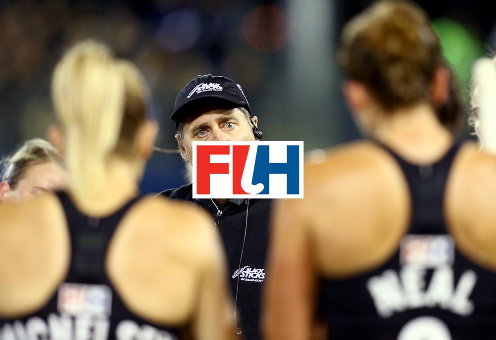 New Zealand, Auckland - 17/11/17  <br /> Sentinel Homes Women&rsquo;s Hockey World League Final<br /> Harbour Hockey Stadium<br /> Copyrigth: Worldsportpics, Rodrigo Jaramillo<br /> Match ID: 10292 - NED vs NZL<br /> Photo: (Head Coach) HAGER Mark