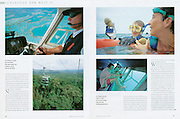 "TEARSHEET: ""Great South Pacific Express"" by Heimo Aga for abenteuer & reisen."