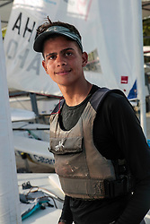 World Sailing Emerging Nations Program - Boca Chica Sailing Club, Santo Domingo 08/19/2017 - DAY 1- Nathaniel Clarke from Trinidad and Tobago