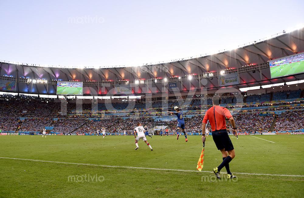 FUSSBALL WM 2014                FINALE Deutschland - Argentinien     13.07.2014 Einblick ins Stadion Maracana in Rio de Janeiro