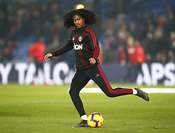 February 27, 2019 - London, England, United Kingdom - Manchester United's Tahith Chong.during English Premier League between Crystal Palace and Manchester  United at Selhurst Park stadium , London, England on 27 Feb 2019. (Credit Image: © Action Foto Sport/NurPhoto via ZUMA Press)