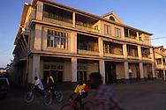BELIZE / Belize City / Wood-framed Paslow Building. City´s main post office...© JOAN COSTA