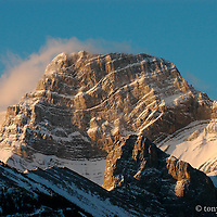 GNP Front photographs of large mountainscapes from the western united states, north America, Canada, rocky mountains