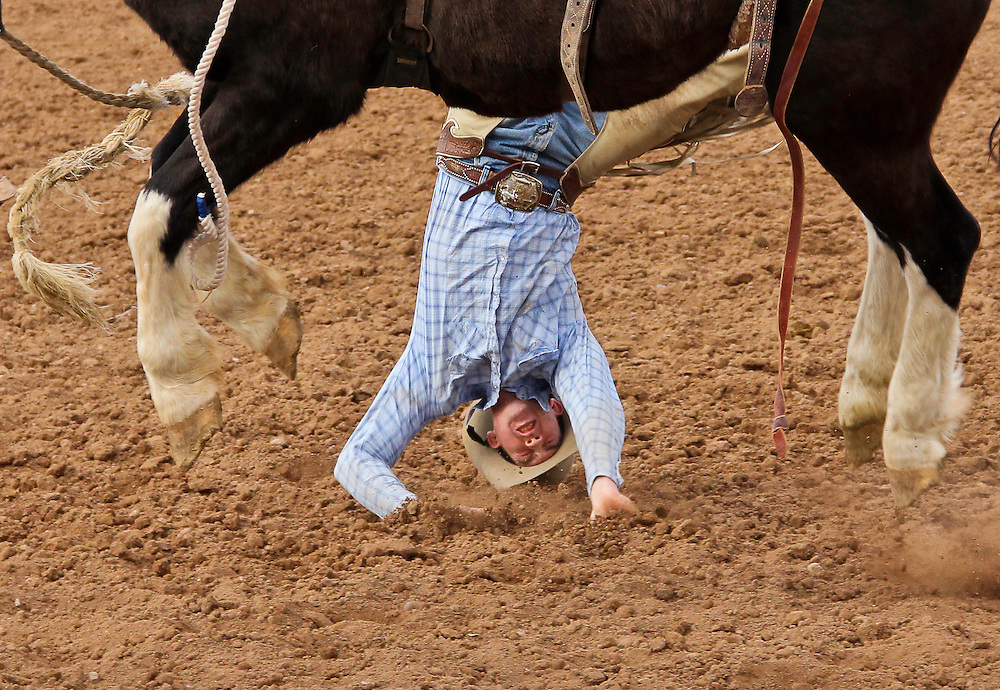 The end of a rough ride. Rodeo