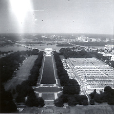 Washington DC Circa 1970 Historical Royalty Free Stock Images