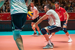 25-05-2019 NED: Golden League Netherlands - Croatia, Apeldoorn<br /> First match poule B: Dutch open Golden European League with 3-2 win over Croatia / Marko Sedlacek #17of Croatia