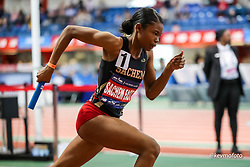 2020 NYRR Millrose Games<br /> New York, NY  2020-02-08<br /> girls relay, Long ISland HS Girls 4x400