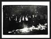 Burning Boat, Oriel College, Oxford, 1984
