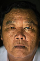 A portrait of Pham Thanh Cong, a survivor of the My Lai Massacre and the director of the memorial museum in Quang Ngai Province, central Vietnam.