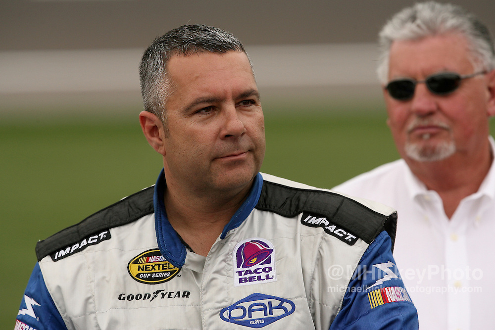 Kevin Lepage seen on pit lane during qualifications at Las Vegas Motor Speedway.
